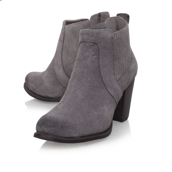 d85f34d7891 Ugg Cobie II Nightfall Grey Suede Ankle Boots NWT